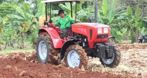 Трактор Беларус-421 успешно прошел испытания в Индонезии