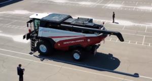 Ростсельмаш готовится провести полевые испытания беспилотного комбайна TORUM